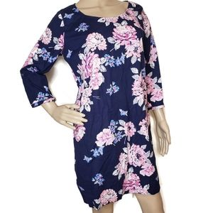Old Navy size Medium navy and floral dress